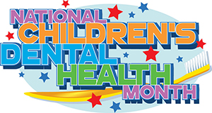 National Children's Dental Health Month Image